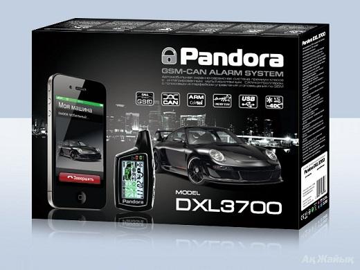 Охранная сигнализация «Pandora DXL 3700» изображена на рисунке