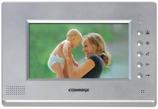 На фото представлена одна из моделей беспроводных видеодомофонов «Сommax»