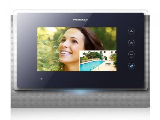 На фото представлен цветной IP-видеодомофон «Сommax»