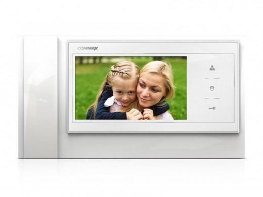 На фото представлен монитор видеодомофона «Сommax» CDV