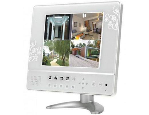 На фото представлен видеодомофон с функцией видеорегистратора