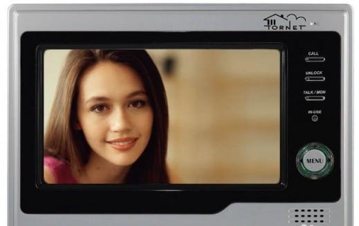 Видеодомофон на снимке