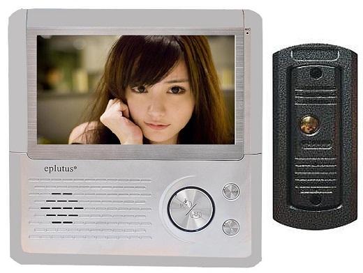 На снимкепредставлен видеодомофон «Eplutus».