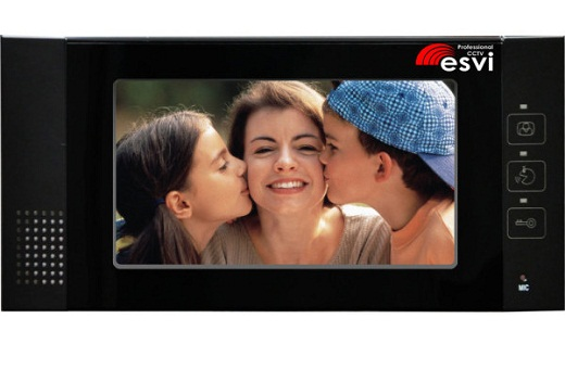 На рисунке представлен видеодомофон «Esvi».