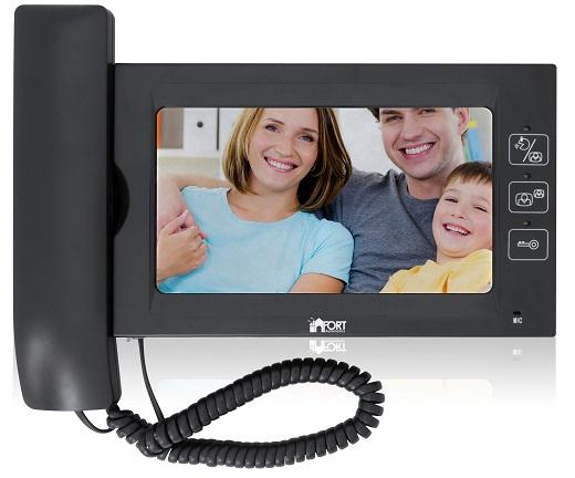 На рисунке изображен видеодомофон производителя «Fort»