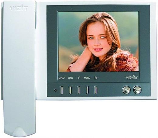 На фото представлен видеодомофон «Vizit».