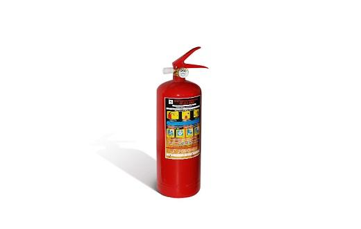 На фото порошковый огнетушитель ОП-2
