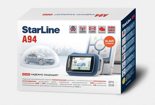 Автосигнализация «StarLine А94» на фото