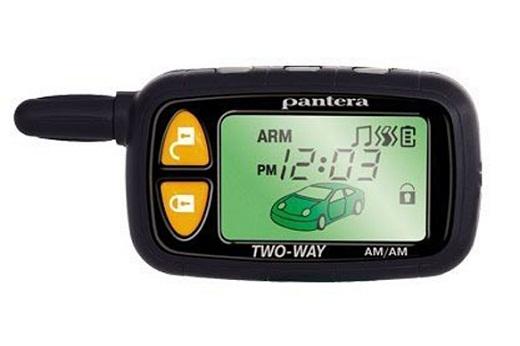 На фото представлен брелок автосигнализации «Pantera XS-3100»