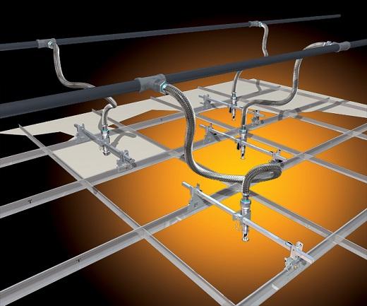 Сринклерная система является одной из эффективных систем пожаротушения