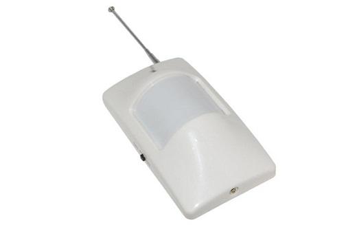 На фото представлен беспроводной GSM датчик движения