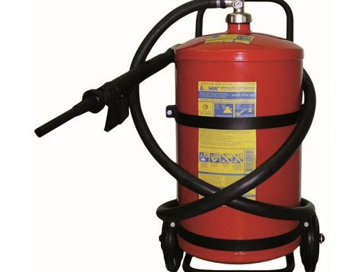 Огнетушитель ОВП-50 представлен на фото