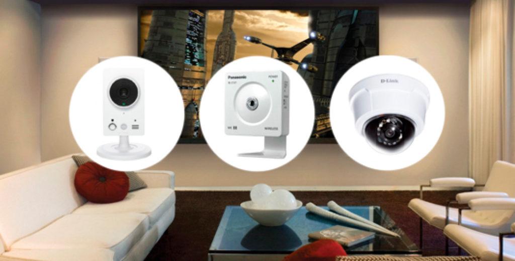 камера видеонаблюдения для квартиры