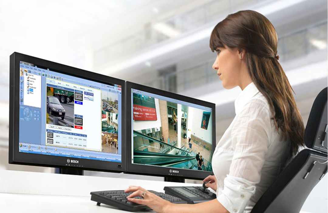 монитор для видеонаблюдения