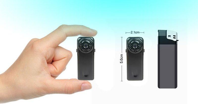 шпионская видеокамера с датчиком движения