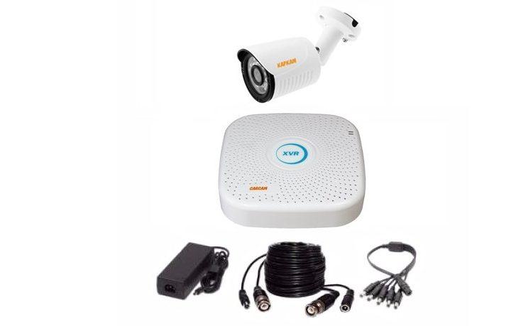 комплект видеонаблюдения на 1 камеру