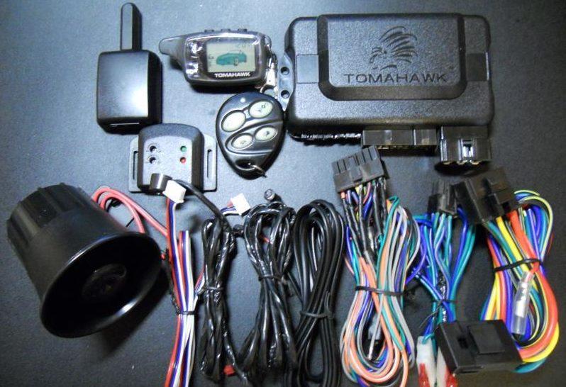 Настройка сигнализации томагавк 9020. Как настроить автозапуск сигнализации Tomahawk. Порядок замены элемента питания в брелоке с LCD дисплеем
