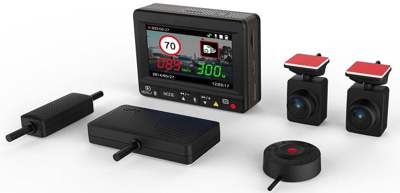 Автомобильный видеорегистратор с двумя камерами особенности 2 3 и 4-камерных гаджетов