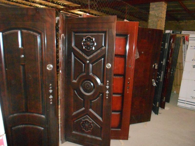 дешевые китайские входные металлические двери