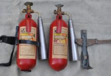 газовые огнетушители
