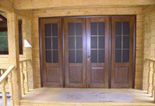 входные двери деревянные