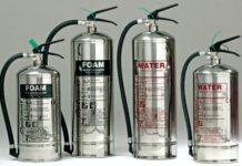 водные огнетушители